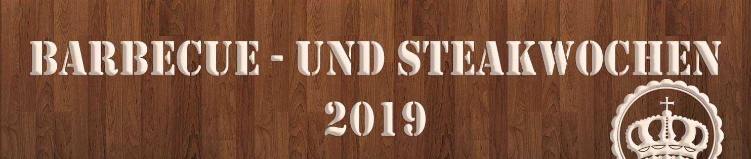 Barbecue und Steakwochen 2019