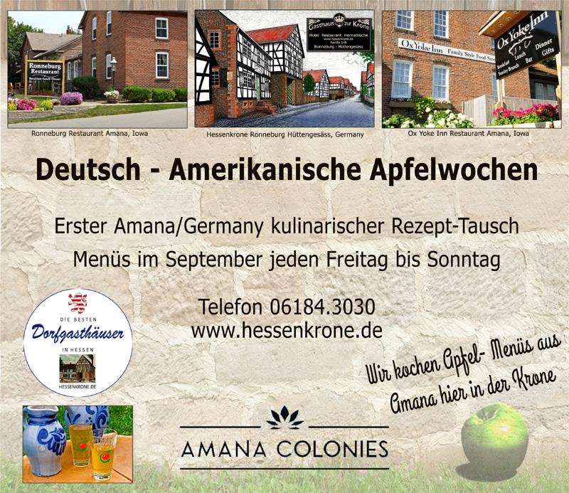 Deutsch – Amerikanische Apfelwochen