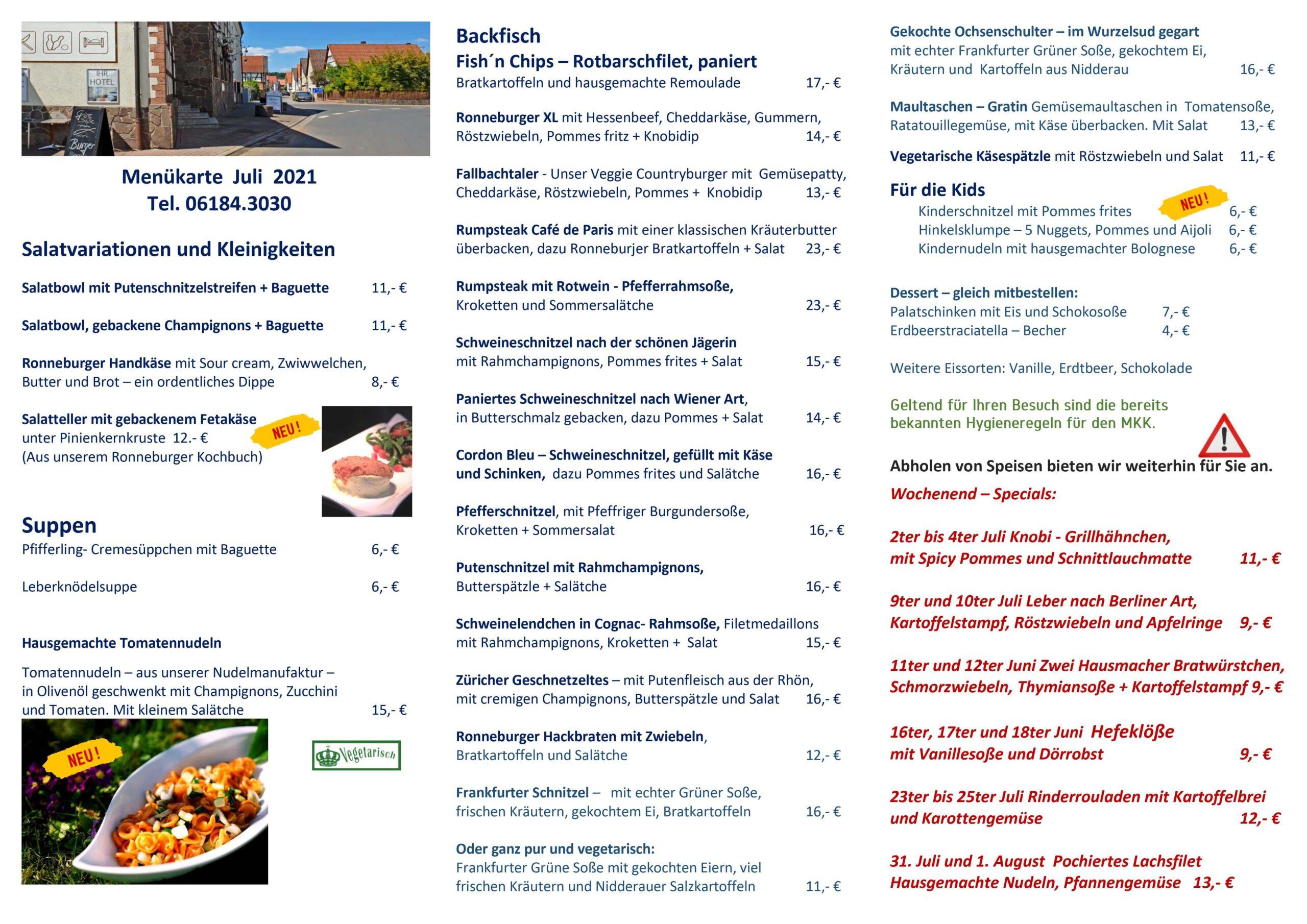 Zur Krone Ihre Heimatkuche In Ronneburg Restaurant Hotel Tagungen In Ronneburg